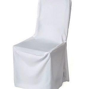Svatební potahy na židle a mašle